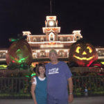 My wife Trina & I at Disney World after Convetion