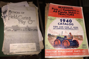 Vintage agriculture magazines once owned by my grandfather and great-grandfather.