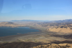 San Luis Reservoir, August 2016, only about 10% of capacity