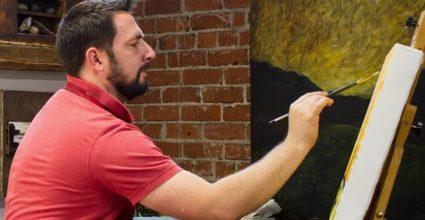 Meet Daniel Van Gerpen – Fresno Painter Depends on Ag for Inspiration