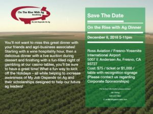 On the Rise with Ag Dinner @ Ross Aviation | Fresno | California | United States